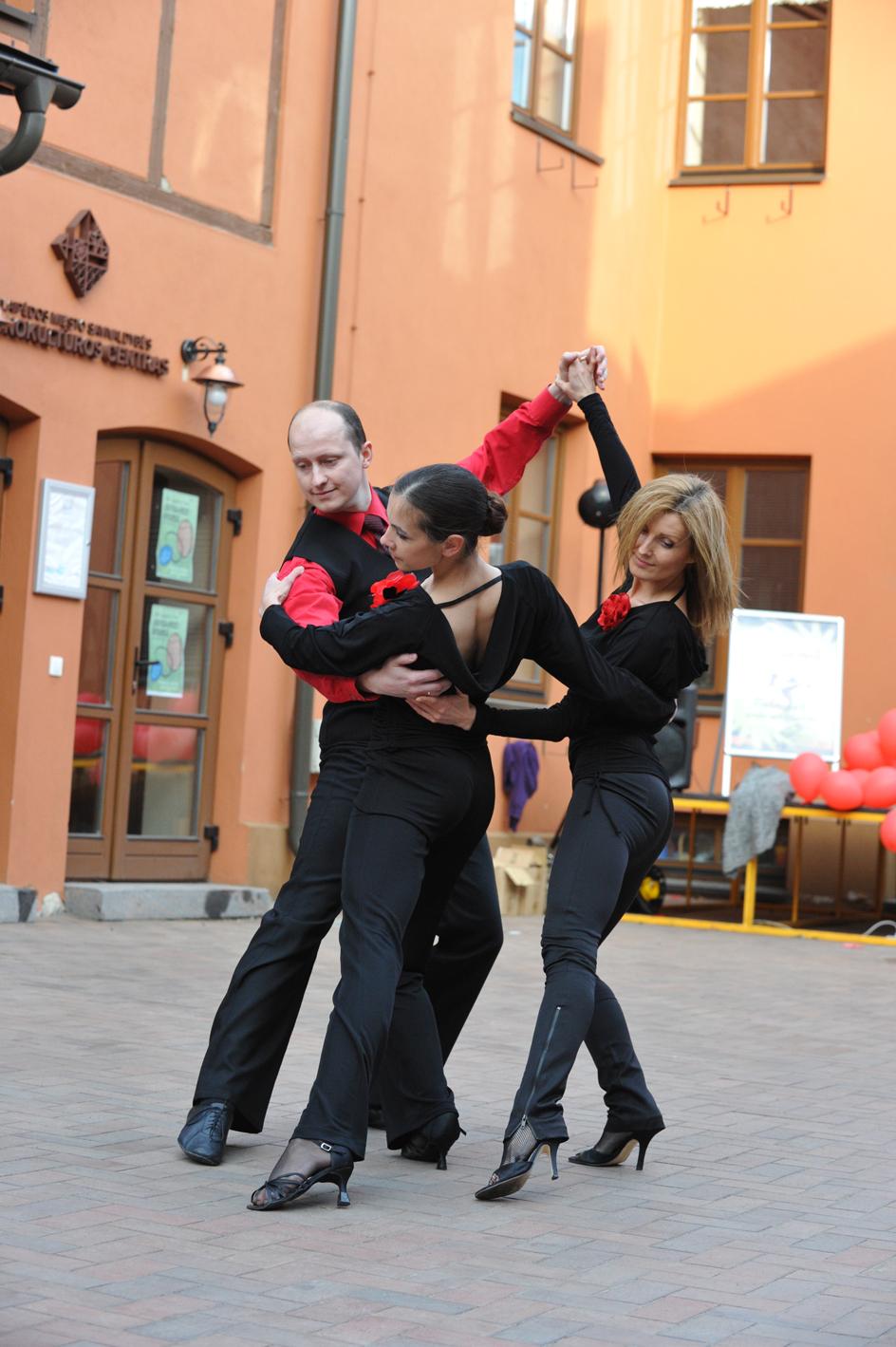 Tango pasirodymas