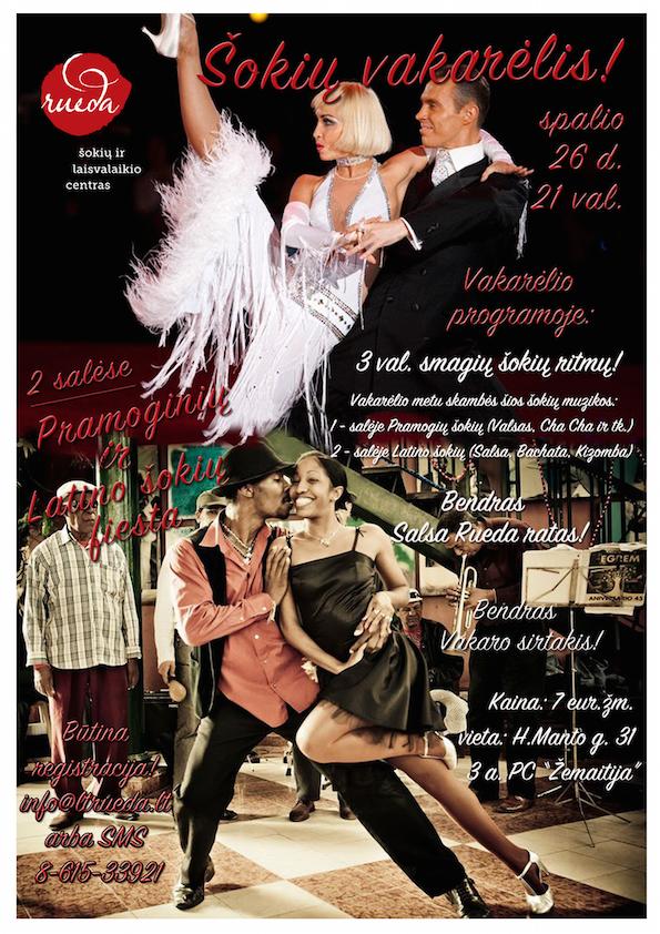 Šokių-vakarėlis-www.ltrueda.lt plakatas