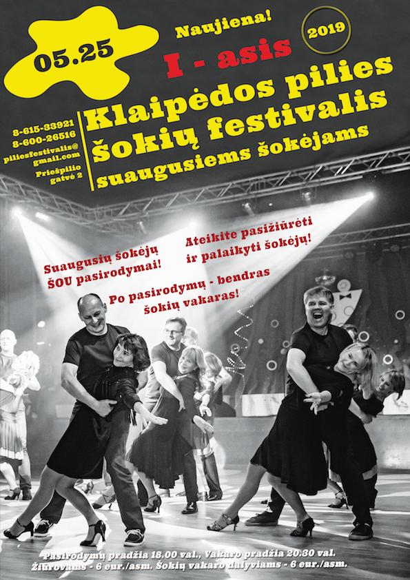 KL Pilies šokių Festivalis 2019-plakatas-žiūrovams-ir-vakareliui